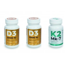 NATURAL VITAMIN D3 & K2 MK-7