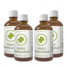 DMSO Dimethyl sulfoxide 99,9% 4 x 100 ml