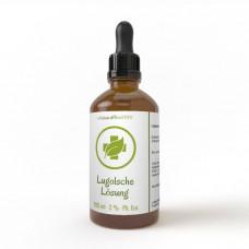 Iodine solution Lugol's solution 2% 100ml