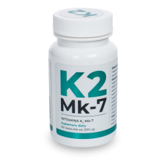 K2 MK-7 Natural Vitamin 200 MCG